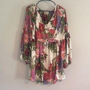 Show Me Your Mumu Floral Tunic Dress